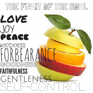 THE FRUIT OF THE SOUL