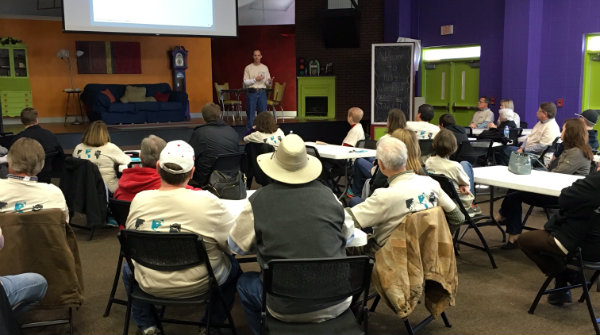 Community Evangelism Faith Sharing Training at First Baptist Covington