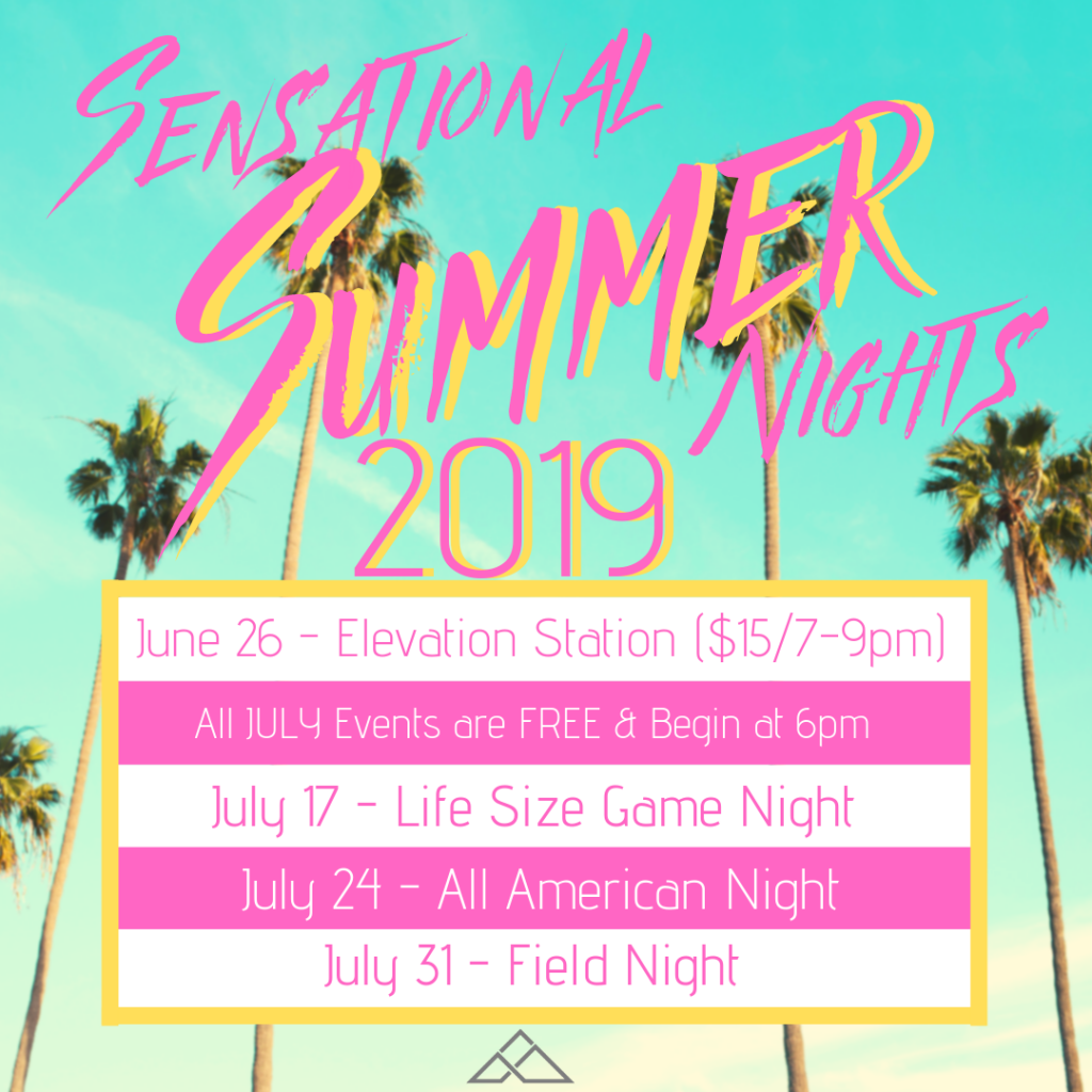 Sensational Summer Nights 2019