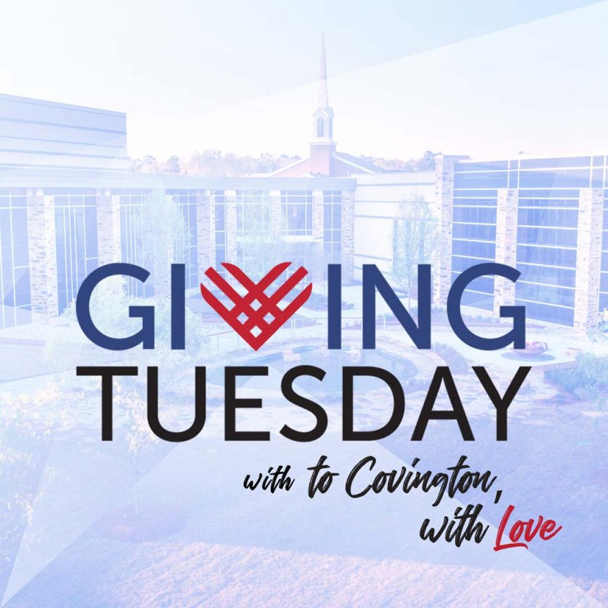 Giving Tuesday wit To Covington with Love Graphic