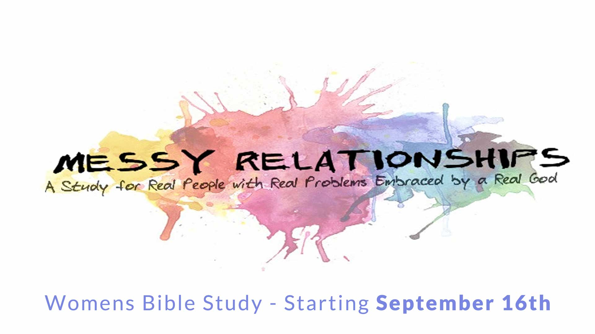 Join us for our Womens Bible Study Starting September 16th