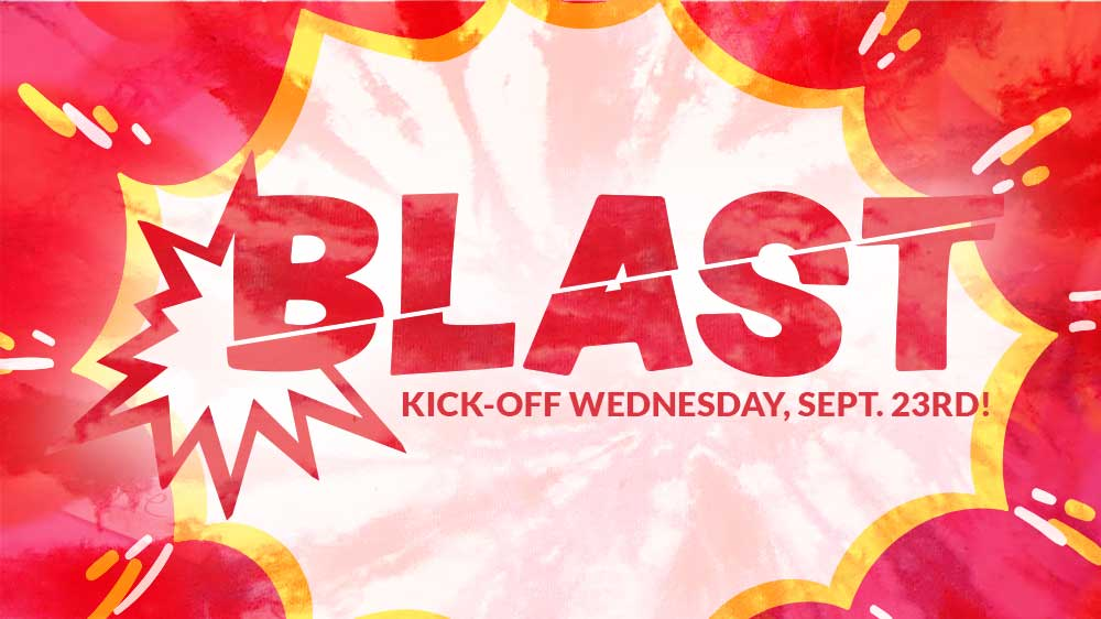 Blast Kids Kicks off Wednesday, September 23rd!