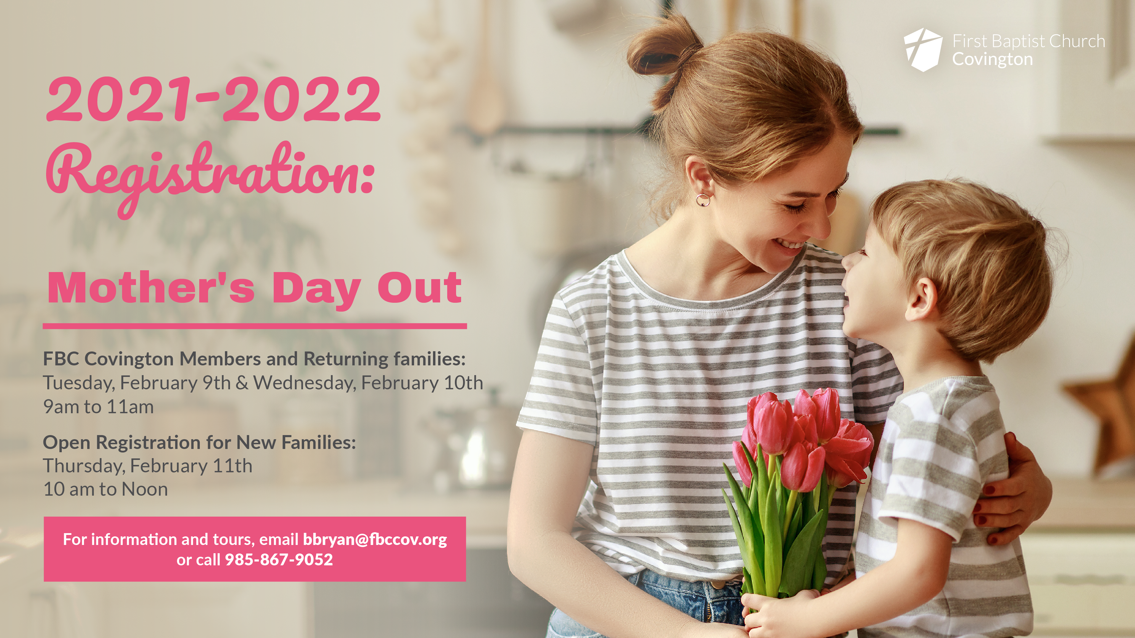 Mother's Day Out 2021-2022